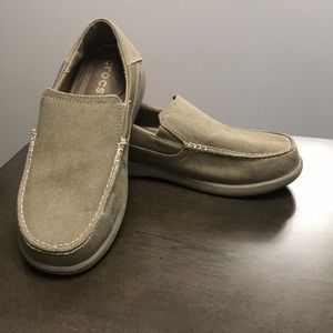 Crocs Loafers, Khaki Colored